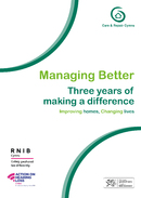 Managing Better Three years of  making a difference